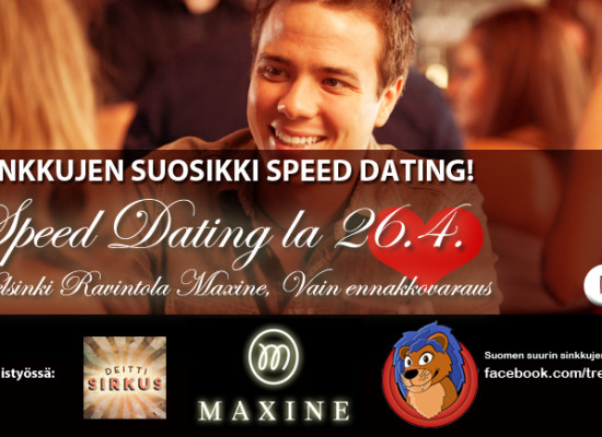 HUHTIKUUSSA: SPEED DATING – Helsinki – Maxine