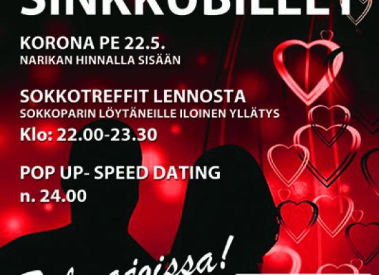 Deittisirkus SINKKUBILEET JÄRVENPÄÄSSÄ VOL.2 toukokuussa (Pe 22.5.)