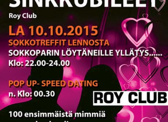 Deittisirkus Sinkkubileet Rovaniemellä 10.10.2015 (Roy Club)