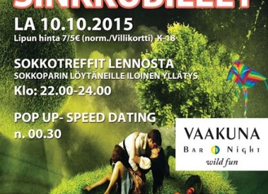 Deittisirkus Sinkkubileet MIKKELISSÄ  la 10.10.2015