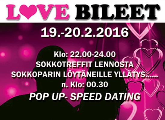 Deittisirkuksen Love Bileet Kalajoella 19.-20.2!