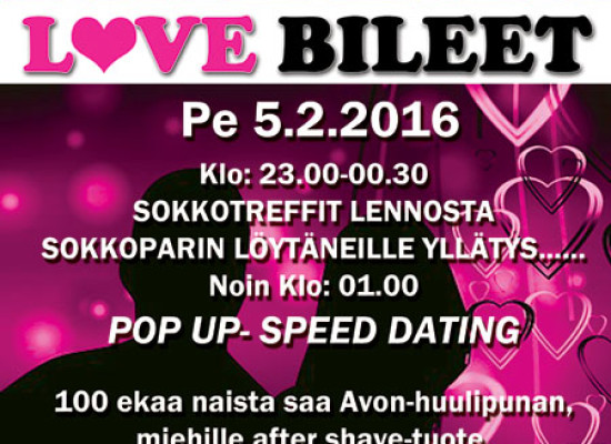 Deittisirkus Love Bileet Kouvolassa pe 5.2.2016