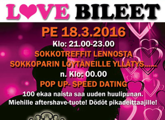 Deittisirkus Love Bileet Tampereella 18.3. (Bar K)
