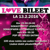 Keravalla Love Bileet 13.2.2016  (Club Cosmopoli)