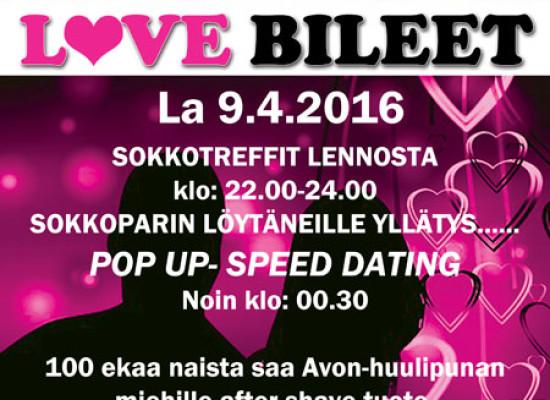 Deittisirkus LOVE BILEET Oulun Amarillossa la 09.04.