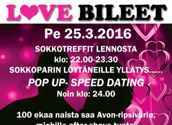 Deittisirkus LOVE BILEET Järvenpäässä pe 25.3.