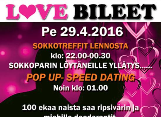 KUOPIOSSA DEITTISIRKUS LOVE BILEET PE 29.4. (Puikkari)
