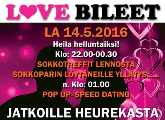 Heila helluntaiksi Tikkurilan Shamrockista! (la 14.5.2016)