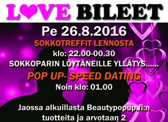 MIKKELISSÄ PE 26.8. Deittisirkus LOVE BILEET