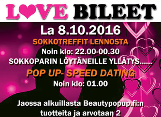 Hämeenlinnan NightLifessa Deittisirkus LOVE BILEET la 8.10. (RADALLE.com viralliset jatkobileet!)