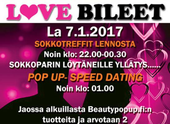 Deittisirkus LOVE BILEET Vantaalla la 7.1.17 (Shamrock)