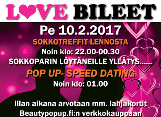 Pietarsaari (Melody Nightclub) Deittisirkus LOVE BILEET pe 10.2.