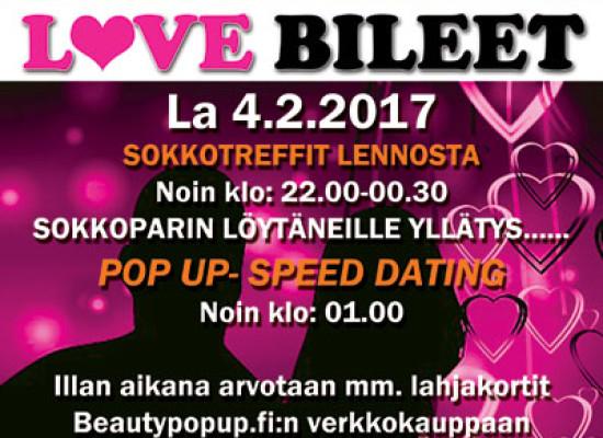 Deittisirkus LOVE BILEET – Vantaa, Shamrock la 4.2.