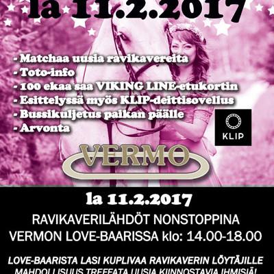 Deittisirkus LOVE-BAARI Vermossa la 11.2.2017 (Espoo)