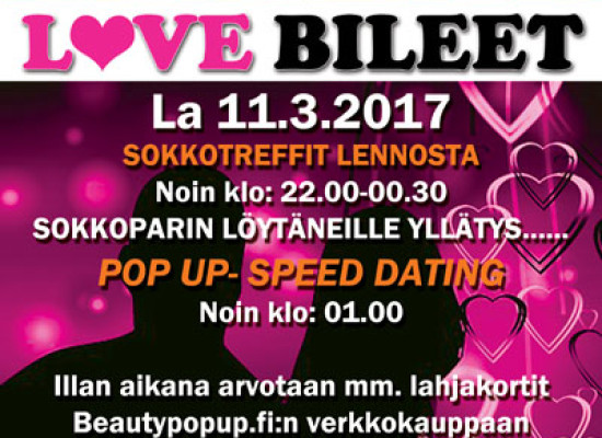 Deittisirkus LOVE BILEET – VANTAA, Shamrock