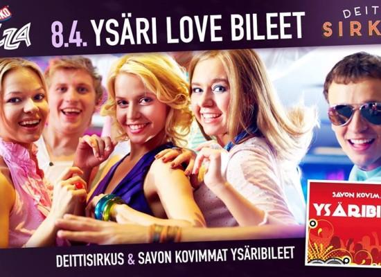 YSÄRI LOVE BILEET TAHKOLLA LA 8.4.