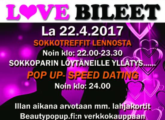 Järvenpää, Korona – Deittisirkus LOVE BILEET la 22.4.