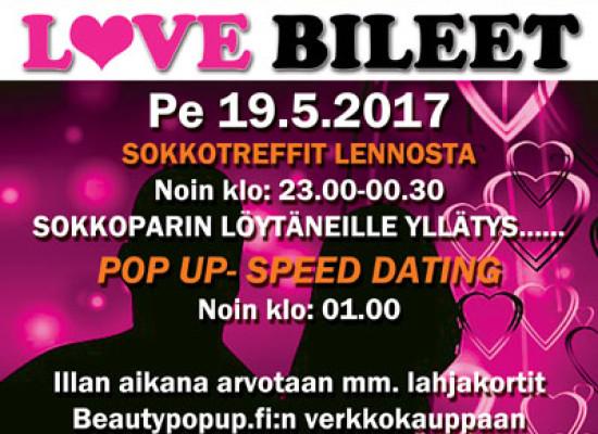 Kokkolan Callessa Deittisirkus LOVE BILEET pe 19.5.