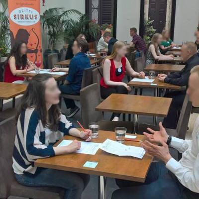Kokemuksia viime kerralta Helsingin Prestosta (Deittisirkus Originaali speed dating)