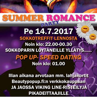 HANGOSSA SUMMER ROMANCE PARTY PE 14.7.2017 (Casino)