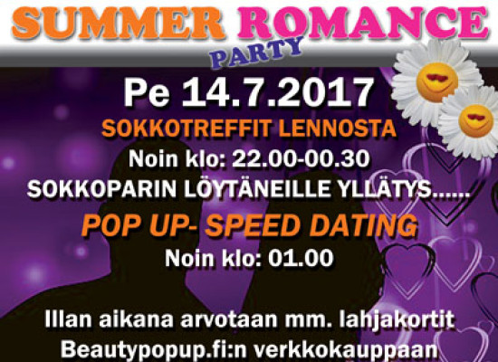 HANGOSSA SUMMER ROMANCE PARTY PE 14.7.2017 (Casino)