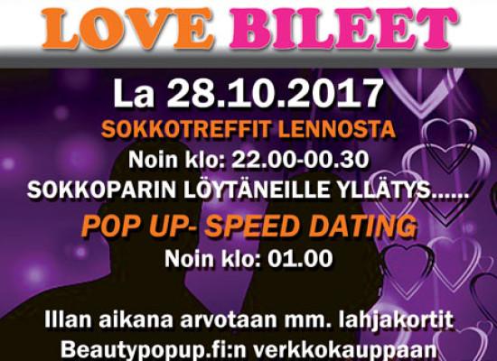 SOMEROLLA Deittisirkus LOVE BILEET la 28.10.