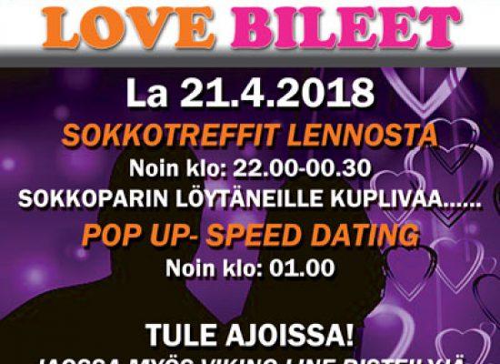 Deittisirkus LOVE BILEET – KOUVOLA, Mulligans la 21.4.2018