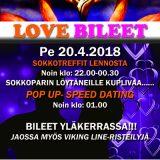 Deittisirkus LOVE BILEET – VANTAA, Shamrock pe 20.4.2018