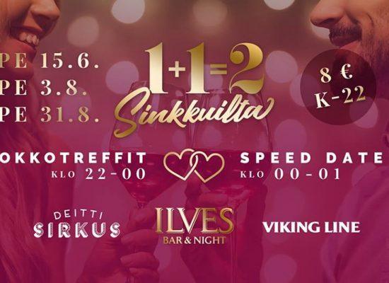 Tampereen Ilveksen bilepäivämäärät 15.6., 3.8. ja 31.8.