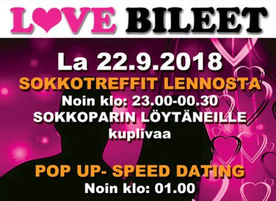 Deittisirkus LOVE BILEET Imatralla, Osmos Cosmoksessa la 22.9.2018