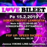 Deittisirkus LOVE BILEET Nurmijärvellä, CLUB VENLA pe 15.2.2019
