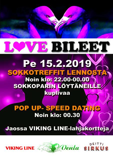 LOVE BILEET VENLASSA - NURMIJÄRVI LOVETTAA