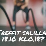 Treenitreffit 18.10.2019 Tapanilan Urheilukeskuksessa