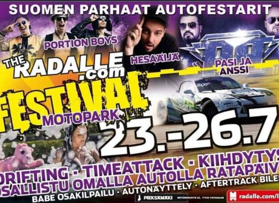 SPEED DATING (Deittisirkus) pe 24.7.2020 – RADALLE.com Festival Motopark