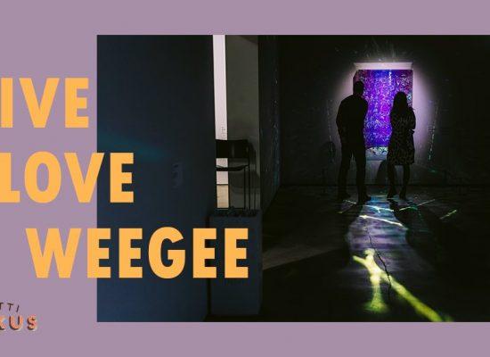 6.11.2020 LiveLOVE VOL 3 (Espoo/Tapiola) WeeGee Näyttelykeskus